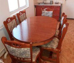 München étkező garnitúra 6 személyes asztal szék