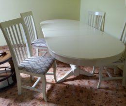 Modern étkező garnitúra modern szék münchen 6személyes asztallal román bútor