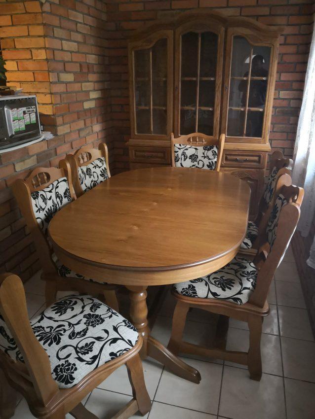 München étkező garnitúra Európa asztal szék 3-as tálaló
